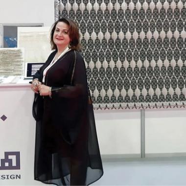 استوحي التصاميم من الفنون الإسلامية والحرف العربي واستعين بالنخلة السومرية
