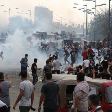 الامم المتحدة ترفض القمع العنيف للمتظاهرين السلميين في العراق