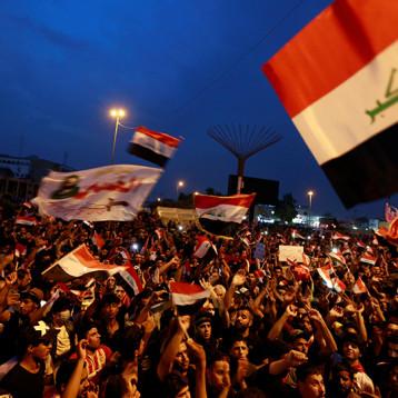 المتظاهرون: سنعمل على المستوى الاممي لسحب الشرعية الدولية من الحكومة والعصيان المدني