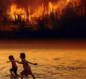 النيران تلتهم رئة العالم وتخنق الكوكب
