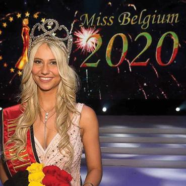 تعثرت على المسرح لكنها فازت  بلقب ملكة جمال بلجيكا