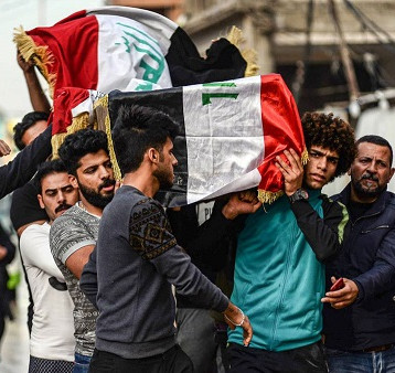 """حجة قتل المتظاهرين من """"الاطراف المجهولة"""" اعتراف بعجز الحكومة التام"""