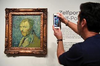 دراسة هولندية تؤكد أن لوحة  رسمها فان جوخ لنفسه أصلية