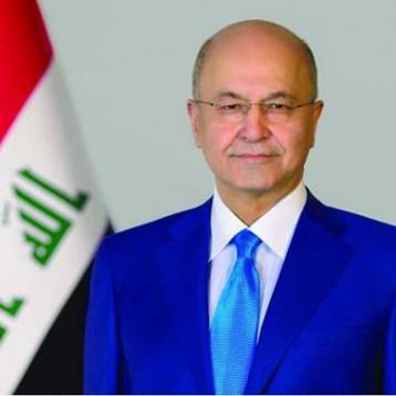 صالح لترامب: العراق يحرص على إقامة علاقات متوازنة مع جميع الأصدقاء والحلفاء