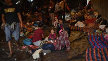 مئات المهاجرين من هندوراس يقتربون  من الحدود المكسيكية