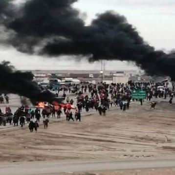 متظاهرو الجنوب يتوعدون بمسيرة كبرى لتطويق المنطقة الخضراء