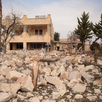 مقتل خمسة مدنيين في غارة روسية  على شمال غرب سوريا