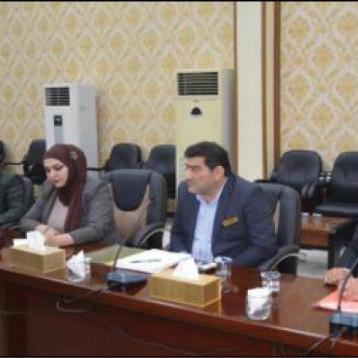 وزير التجارة يصدر عدة توجيهات لتطوير عمل اسطول النقل وتذليل المعوقات امامه
