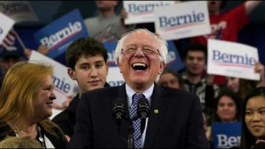 ساندرز يفوز في الانتخابات التمهيدية للديموقراطيين في نيوهامبشر وتراجع كبير لبايدن