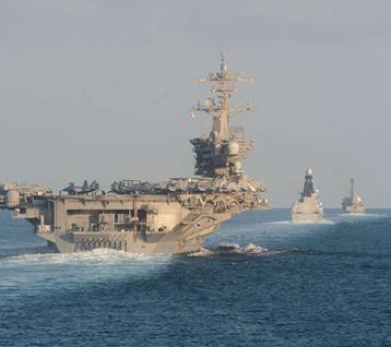 سلطنة عمان: مضيق هرمز نقطة الاشتعال الأخطر في الخليج لكثرة السفن الحربية فيه
