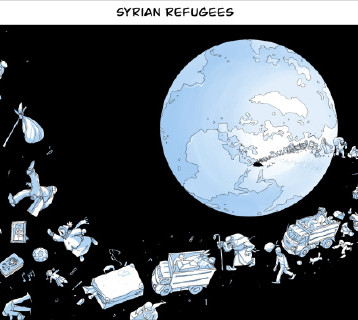 شتات اللاجئون السوريون