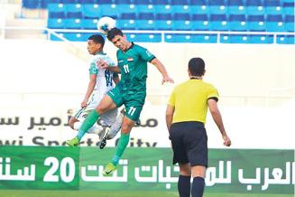غدا.. الشبابي يلاقي مصر  في ربع نهائي كأس العرب