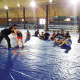 موهبة المصارعة يقيم تدريبات مشتركة مع نادي الولاء