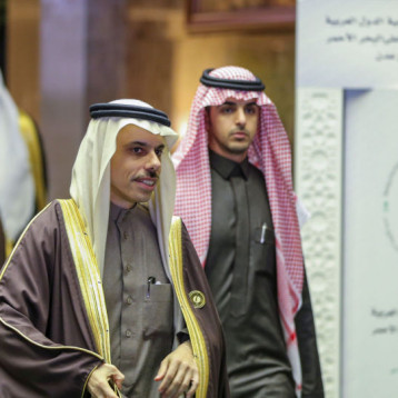 """وزيرا خارجية السعودية والعراق يتبادلان وجهات النظر حول """"صفقة القرن"""""""