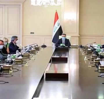 الزرفي يلتقي سفراء دول الاتحاد الأوروبي ويؤكد قدرة العراق على تخطي الأزمة الحالية