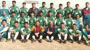 ذكريات فوز فريق الشرطة بلقب دوري الكرة الممتاز لموسم  97/98 