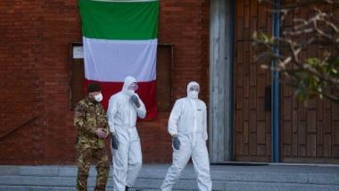 مساعدات طبية اميركية إلى إيطاليا بقيمة 100 مليون دولار
