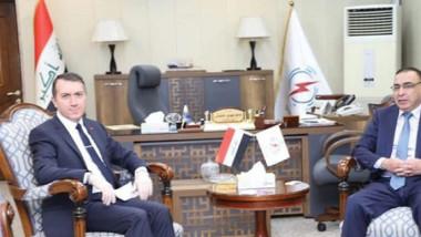 العراق وتركيا يبحثان الربط المشترك لمنظومة لطاقة