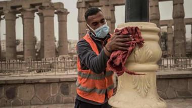 """مصر تتحضّر لعودة السياح في """"ظروف صحية مثالية"""""""