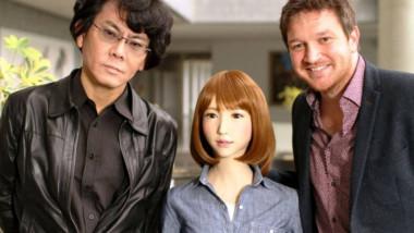 إريكا أول روبوت يحصل على بطولة فيلم