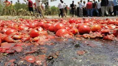 مزارعون يقطعون طرق رئيسة في اربيل مطالبين بحماية منتجاتهم المحلية