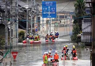مقتل 50 شخصا جراء امطار بدأت السبت ويرجح استمرارها بضعة أيام في اليابان