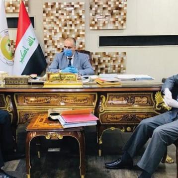 وزير الزراعة يؤكد على منع الاستيراد عبر اقليم كردستان وضبط المنافذ الحدودية