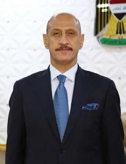 درجال يعرب لأوهانيان عن تضامن العراق مع لبنان