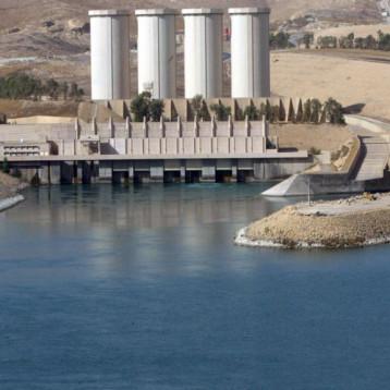 سد الجزرة التركي يقلص كميات كبيرة من المياه قبل وصولها سد الموصل