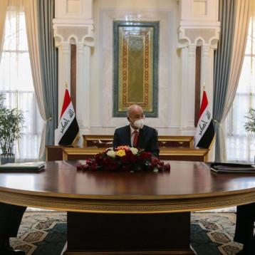الرئاسات الثلاث: العراق متمسك بمخرجات الحوار الاستراتيجي والتعاون طويل الأمد مع الولايات المتحدة