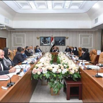 """""""الصناعة تشارك في اجتماع لجنة استراتيجية الموازنة العامة للأعوام (٢٠٢١–٢٠٢٣)"""
