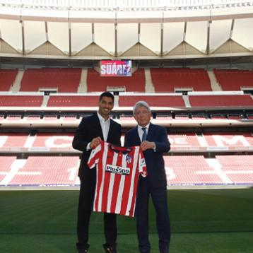 سواريز .. يتطلع للنجاح في مرحلة تحد جديدة مع أتلتيتكو مدريد