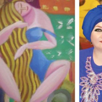 التشكيلية ليلى مراد: الفنانة العراقية أثبتت وجودها عالمياً