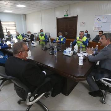 وزير النفط يؤكد: في أولوياتنا الإسراع بتنفيذ مشاريع استثمار الغاز