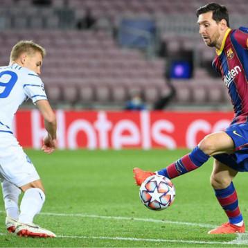 برشلونة يسقط دينامو كييف برباعية وفوز قاتل ليوفنتوس